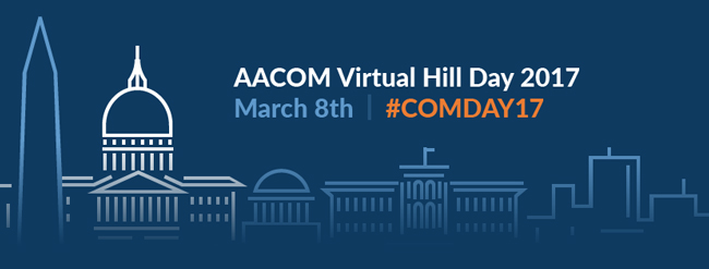 AACOM Virtual Hill Day, March 8, 2017