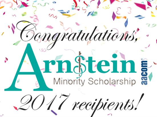 Congratulations Arnstein Scholarship Recipients!