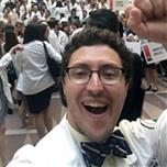 Fritz Stine selfie taken with almost 1,000 osteopathic medical students during DO Day in D.C.