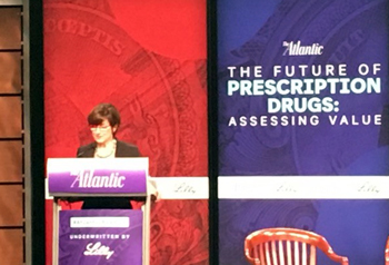 Attendees at the Future of Prescription Drugs seminar