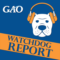 GAO Watchdog Report cover with bulldog image
