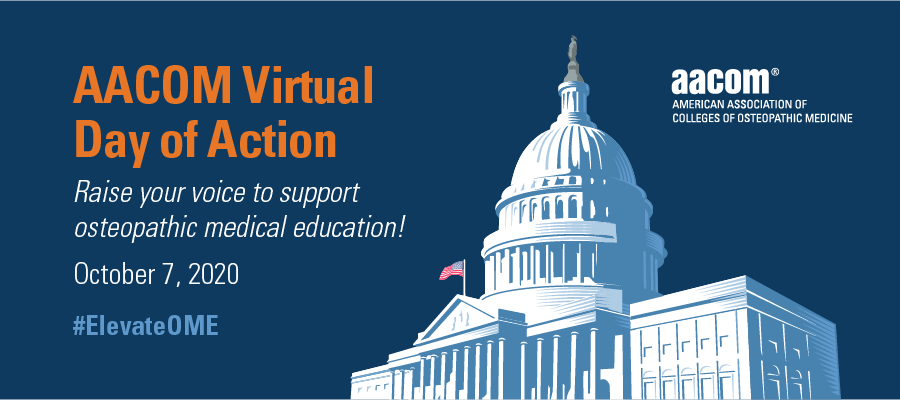AACOM Virtual Day of Action-October 7