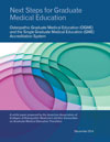 Next Steps for Graduate Medical Education cover