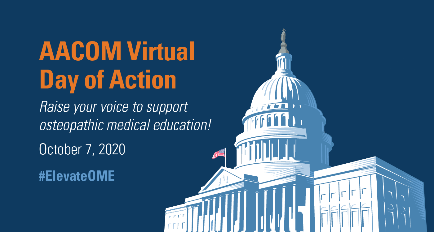 AACOM Virtual Day of Action, Oct. 7, 2020