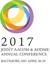 2017 Joint AACOM & AODME Annual Conference