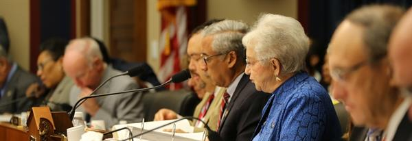 Photo of US House Committe in session