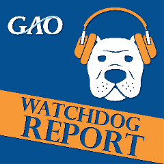 banner for the Government Accountability Office showing the dog icon