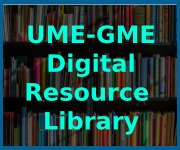 banner for the ume-gme digital reosurce library