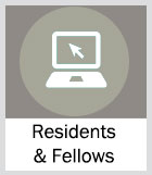 button to access webinars about residents and fellows