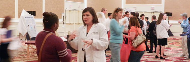 AACOM sponsored Health Professions Recruitment Fair