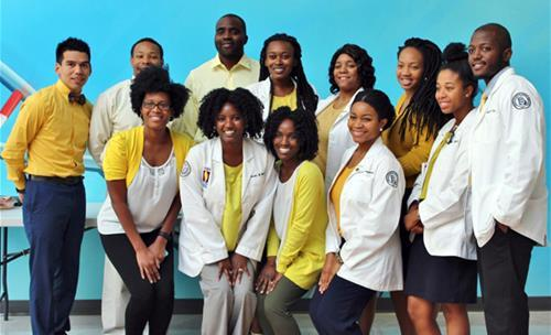 SNMA members celebrate DO Day of Compassion at GA-PCOM
