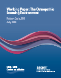 Working Paper: The Osteopathic Learning Environment